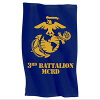 Rally Towel: 3rd Recruit Btn (Blue)