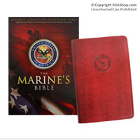 The Marine's Bible (gift-boxed, simulated leather)