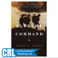 Supreme Command: Soldiers, Statesmen and Leadership in Wartime