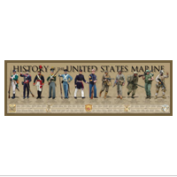 Poster: History of the United States Marine