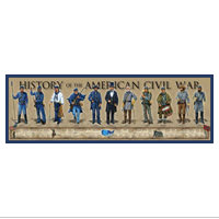 Poster: History of the American Civil War