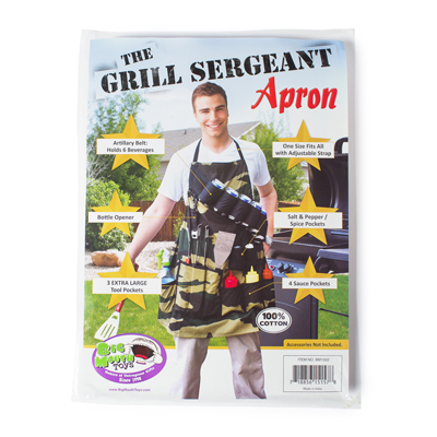 Apron: Grill Sergeant