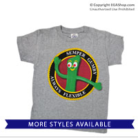 T-Shirt: Semper Gumby (Adult and Youth)