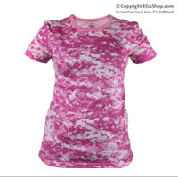 Camo T-Shirt: Digital Pink Camo