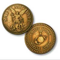 Coin, Marine Corps & St. Michael