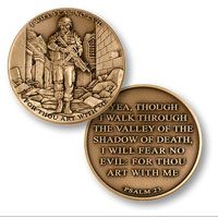 Coin, I Will Fear No Evil - Psalm 23