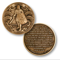 Coin, Armor Of God (High Relief)