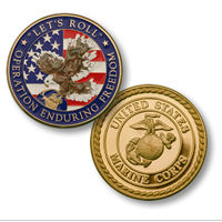 Coin, Operation Enduring Freedom-MerlinGold