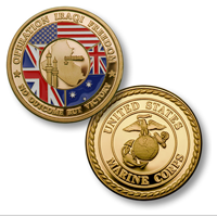Coin, Operation Iraqi Freedom-MerlinGold