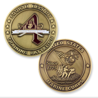 Coin, MCRD, 4th Battalion