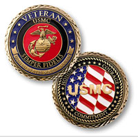 Coin, Veteran - U.S. Marines