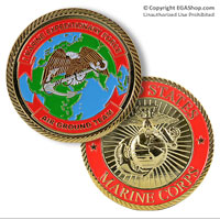 Coin: 1st Marine Expeditionary Force