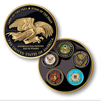 Coin, Support Our Troops, Thank You Troops Coin