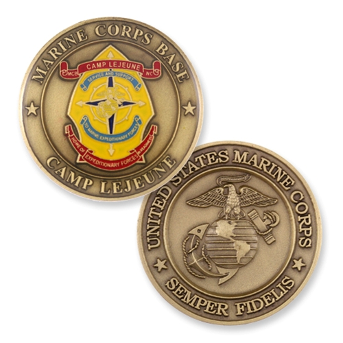 Coin, Camp LeJeune