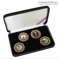 Coin Gift Set: 4 Birthday Coins, 2011-2014