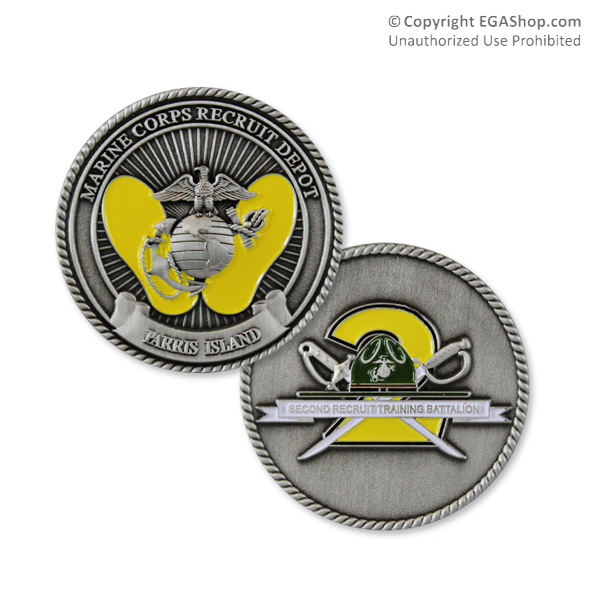 Coin, 2nd Battalion, Parris Island