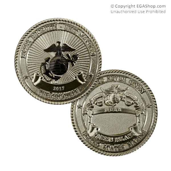 Z Coin, Crucible 2017, Parris Island (Limited Edition)