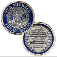 Coin, St. Michael (The Archangel)