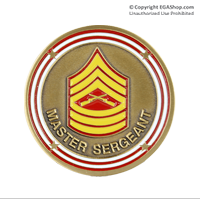 Coin, Rank: Master Sergeant
