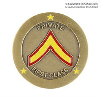 Coin, Rank: Private First Class