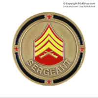 Coin, Rank: Sergeant