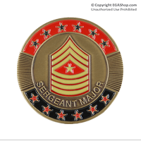 Coin, Rank: Sergeant Major