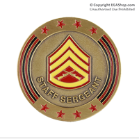 Coin, Rank: Staff Sergeant