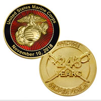 Coin, 2018 Marine Corps Birthday (Limited Edition)