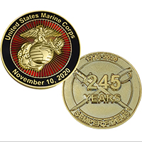 _Coin, 2020 Marine Corps Birthday (Limited Edition)