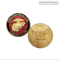 Coin, 2014 Marine Birthday (Limited Edition)