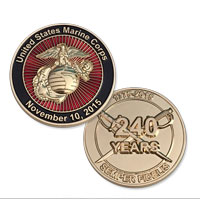 Coin, 2015 Marine Birthday (Limited Edition)