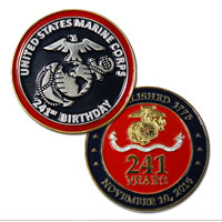 _Coin, 2016 Marine Corps Birthday (Limited Edition)