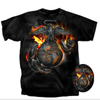 T-Shirt: EGA on Fire