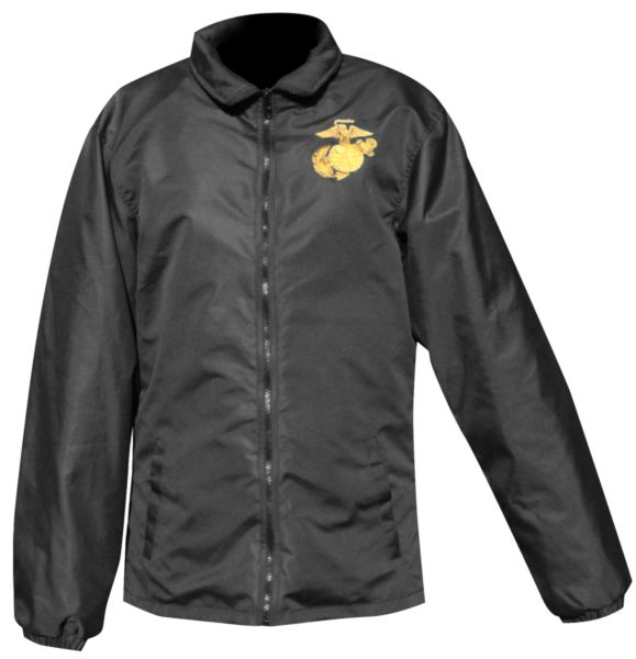 Jacket: Windbreaker with Eagle, Globe and Anchor