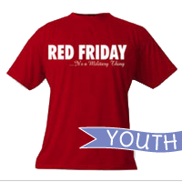 __T-Shirt: Red Friday...It's a Military Thing (YOUTH)