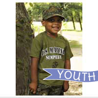 Youth Set: Shorts, Shirt and Cover (Woodland Digital 3-pc)