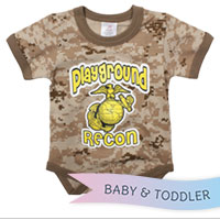 Baby Onesie: Desert Digital 'Playground Recon'