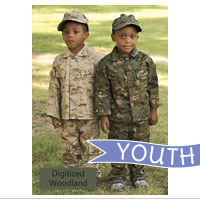 Youth Set: Digitized Woodland Set