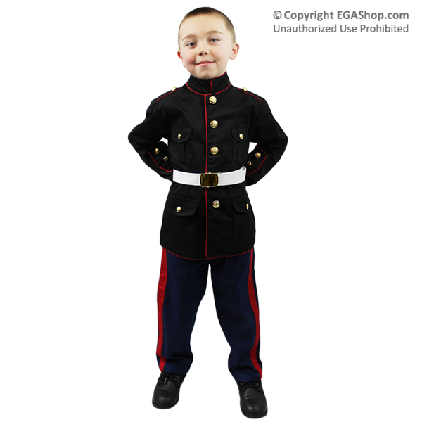 Dress Blue Uniform: Toddler and Youth Sizes