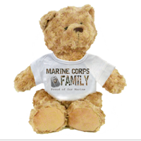 Plush Teddy Bear: Camo Family (customizable)