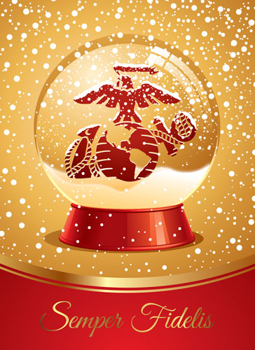 christmas cards  red  gold variety ega  pkg of 12