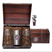 Wine Chest Set: Marine Corps