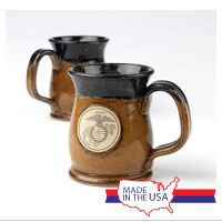 Mug, Handcrafted: Eagle, Globe and Anchor
