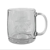 Coffee Mug: Etched EGA (glass)