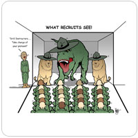 What Recruits See
