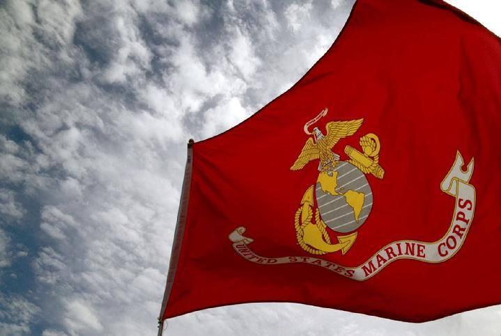 Flag Marine Corps 3x5 Nylon Made In Usa