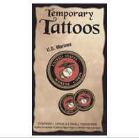 Temporary Tattoo: USMC Seal