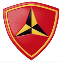 Z Temporary Tattoo: 3rd Marine Division