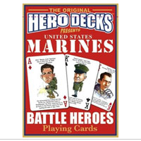 Playing Cards: Marine Heroes Deck
