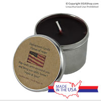 Candle, Deployment: Flames of Hope (tin)